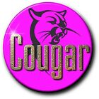 "COUGAR...  FUNNY SLOGAN BADGE...1"" 25 mm GIRLS NIGHT OUT! CHOICE OF 8"