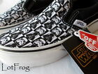 NIB VANS Classic Slip On STAR WARS Dark Side Checkerboard Shoes YOUTH KIDS Sizes