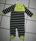 Carter's Just One You My First Halloween MONSTER Sleep & Play w/Hat Set ~Inf Szs