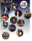 "SLADE 70'S GLAM ROCK LEGENDS/ 25 MM/ 1 "" BUTTON BADGE"