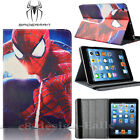 Marvel DC Character Superhero PU Leather Smart Cover Case For IPad Mini 1 2 3