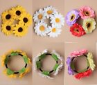 FLOWER, SCRUCHIES, BUN GARLAND, HAIR ACCESSORY, ELASTIC, SCRUNCHY, GIRLS, LADIES