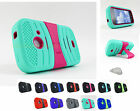 ZTE Prelude Whirl II 2 Z667G Zinger EXO Dual Layer Kickstand Case Cover+Prytool