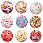 9 x Mini Retro Sweets Fridge Magnets - Cola Bottles, Gift & Kitchen - 25mm