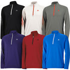 2015 Adidas 3-Stripes Half Zip Fleece Training Top Mens Golf Cover-Up Sweater