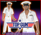 NAVY/SAILOR FANCY DRESS # TOP GUN CAPTAIN OFFICER GENTLEMAN COSTUME