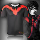 Hot! Mens Super Heros TEE SHIRT Superhero T-Shirt Cycling Bike Jersey Tee Tops