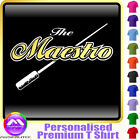 Conductor Maestro - Personalised Music T Shirt 5yrs - 6XL by MusicaliTee