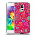HEAD CASE PSYCHEDELIC PAISLEY GEL CASE FOR SAMSUNG GALAXY S5 MINI G800F