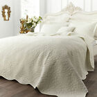 Catherine Lansfield Floral Generic Soft Comfy Quilted Bed Spread Bedspread Throw