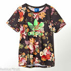 Adidas Originals FARM Womens Jardim Fruta Floral T-Shirt Tee XS UK6 EU32 US2 New