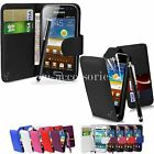 FLIP WALLET CASE POUCH PU LEATHER COVER FOR SAMSUNG GALAXY A5 SM-A500 +SG+PEN