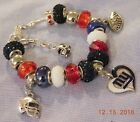 NFL NEW YORK GIANTS Crystal Team Charm Bracelet ELI MANNING FREE SHIPPING!!! on eBay