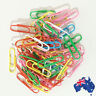 50x 100x 200x Paper Clips Coated Paperclip Stationery 28mm Pin Clip SSPIN28
