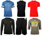 Under Armour Mens HeatGear Shirt Top Shorts Baselayer Vest Tee Running Gym Short