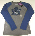 2014 Winter Classic Toronto Maple Leafs Womens Vintage Logo Long Sleeve Shirt