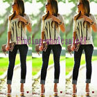 1Pc Womens Summer Casual LOVE Letter Print Blouse Short Sleeve T Shirt Tops 2015