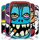 HEAD CASE UGLY FACES SILICONE GEL CASE FOR BLACKBERRY CLASSIC Q20