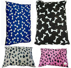 Medium, L, Extra Large DOG BED COVERS with ZIP ~ Pet Dog Cushion Covers WASHABLE