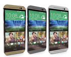 HTC One M8 - 32GB - Silver / Gray/ Gold (AT&T) Smartphone (B)