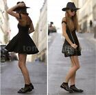 Women Ladies Mini Dress Short Sleeve Mesh Cutout Sweetheart Neckline Dress Sexy
