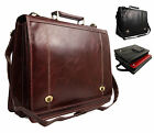 Quality Faux Leather Laptop Business Satchel Work College Briefcase Office Bag