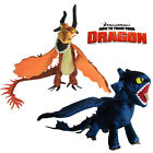 How to Train Your Dragon Plush Toy Toothless & Nightmare Pillow Stuffed Animal
