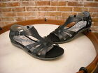 BareTraps Rosely Black Leather T-Strap Sandal NEW