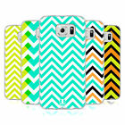 HEAD CASE NEON CHEVRON SILICONE GEL CASE FOR SAMSUNG GALAXY S6 DUOS