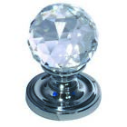Frelan 50mm Crystal Mortice Knob