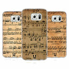 HEAD CASE MUSIC SHEETS SILICONE GEL CASE FOR SAMSUNG GALAXY S6 G920