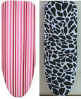 TABLE TOP IRONING BOARD - FOLDING/SPACE SAVING - PINK STRIPE OR ANIMAL PRINT