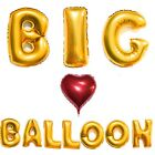 "40"" Foil Full Letter Number Mylar Big Balloons Birthday Wedding Party Decoration"