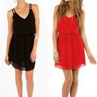 1PC Women Lady Summer Sexy Chiffon Casual Party Evening Cocktail Dress Cheap