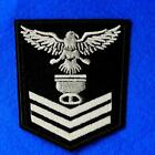 1 Eagle Police Iron on Sew Patch Applique Badge Embroidered Biker Applique Army