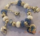 NFL DETROIT LIONS Crystal Team Charm Bracelet   MATHEW STAFFORD FREE SHIPPING!!! $32.49 USD on eBay
