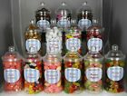 Father's Day Sweets in Victorian Jars 250 gms To 400 gms Various types CHRISTMAS