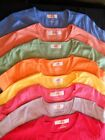 BULK embroidery blanks 12 Hanes Round Neck Cap Fitted T-Shirt 49.00 free ship
