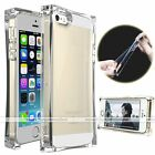 Clear Ice Cube Crystal Soft Gel TPU Shockproof Case Cover For iPhone 4 4S 5 5S