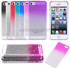 Stylish 3D Rain Drop Crystal Clear Slim Hard Back Case Cover For iPhone 5 5S US