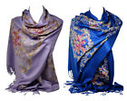 Kyпить Beautiful Embroidered Pashmina Feel Wrap Scarf Scarves Stole Shawl Hijab на еВаy.соm