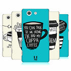 HEAD CASE DESIGNS COFFEE FIX HARD BACK CASE FOR SONY XPERIA Z3 COMPACT D5803