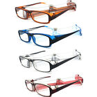 Reading Glasses with Cover Case Holder Blue Brown Red Black Clear Color ERCD322