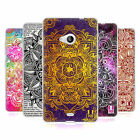 HEAD CASE MANDALA DOODLES SILICONE GEL CASE FOR MICROSOFT LUMIA 535