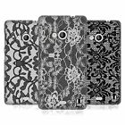 HEAD CASE DESIGNS BLACK LACE HARD BACK CASE FOR NOKIA LUMIA 535