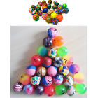 Jet Balls Mini Bouncy Kids Play Party Bag Filler Loot Retro Toy Pinata Children