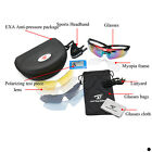 Cycling Riding Bicycle Bike Sports Sun Glasses Eyewear Goggle 5 Lens + box HOT