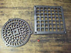 CAST IRON  AIR VENT AIR BRICK GRILLE COVER  round / square