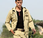 New Men Outdoor Hunting Camping Waterproof Coats Military Tactical Army Jacket