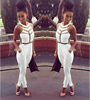 Women Bandage Bodycon Evening Party Cocktail Dress Jumpsuits Dresses Causal Hot